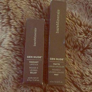 Bare minerals Lip Bundle new